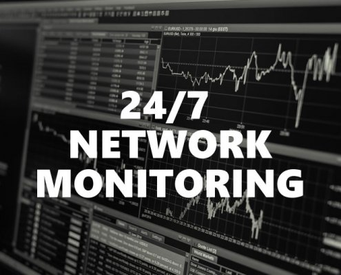This is a picture of software showing network monitoring results