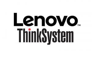 This graphic says Lenovo ThinkSystem server