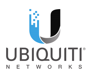 This is a logo for Ubiquiti wireless network manufacturer