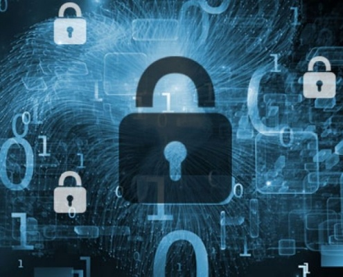 picture of locak representing cybersecurity