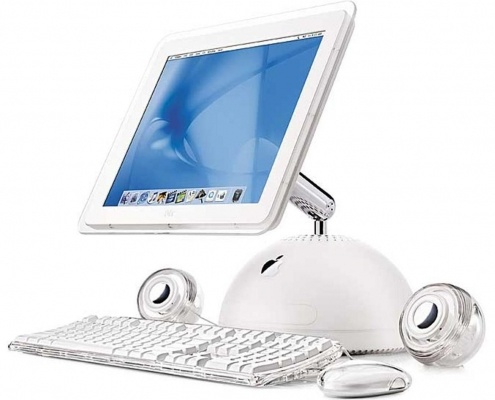 picture of an 2002 iMac computer